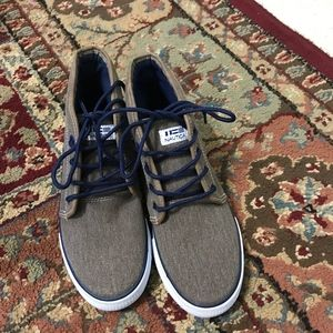 A brand new pair of boy shoes from NAUTICA